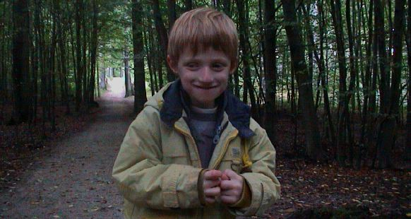 Lou en forêt