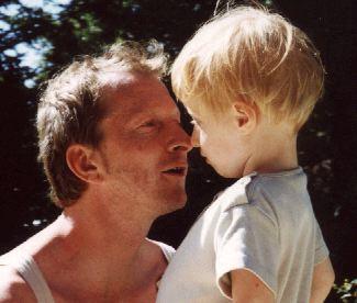 Lou et papa