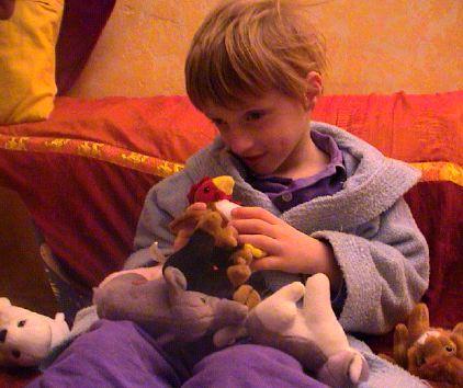 Lou et ses cadeaux de Saint-Nicolas
