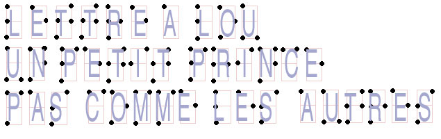 Lou en braille