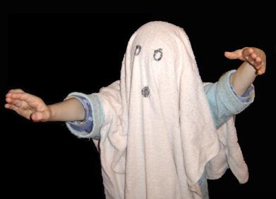 Lou en fantôme