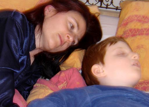 petit prince endormi