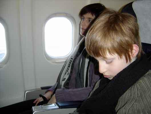 Le petit prince et l'avion