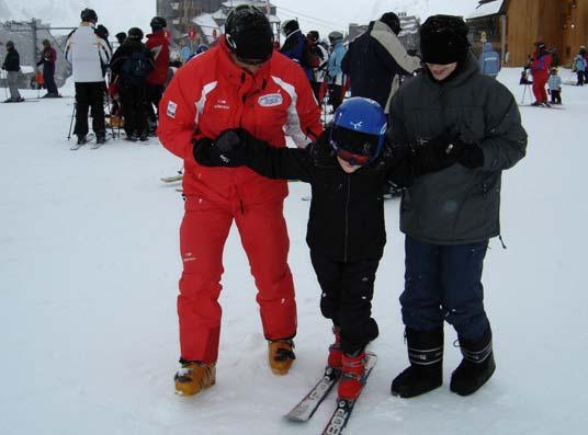 Le petit prince à ski
