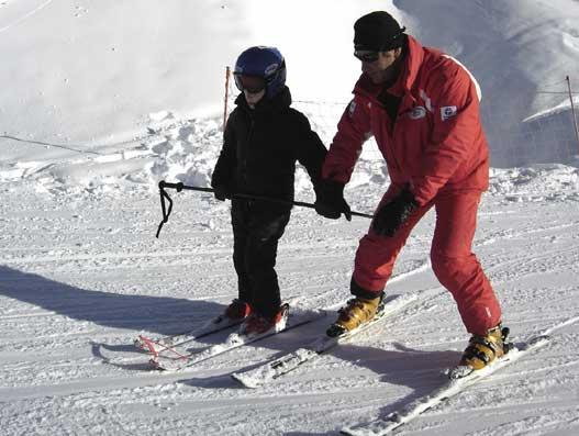 le petit prince à skis