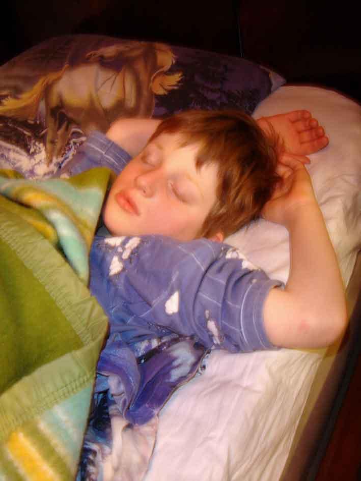 Le petit prince dort