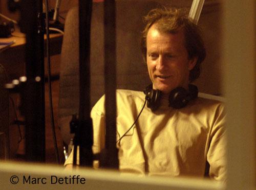 Luc Boland en tournage