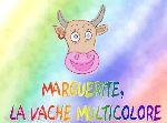 Marguerite la vache multicolore