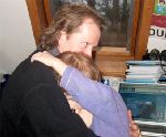 Dans les bras de papa